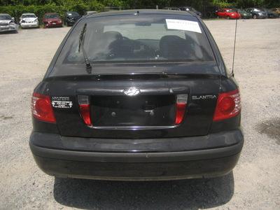 hyundai elantra 2005 black