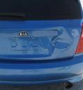 kia spectra5 blue