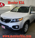 kia sorento 2012 silver suv lx gasoline 4 cylinders front wheel drive automatic 44060