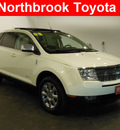 lincoln mkx 2008 off white suv gasoline 6 cylinders front wheel drive automatic 60062