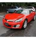 saturn sky 2008 red red line gasoline 4 cylinders rear wheel drive 5 speed manual 07712
