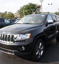 jeep grand cherokee 2012 black suv overland summit gasoline 6 cylinders 4 wheel drive automatic 07730