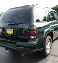 chevrolet trailblazer 2003 dk  green suv lt gasoline 6 cylinders 4 wheel drive automatic with overdrive 07730