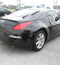 nissan 350z 2003 black coupe enthusiast gasoline 6 cylinders rear wheel drive automatic 45840