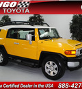 toyota fj cruiser 2008 yellow suv 2wd gasoline 6 cylinders 2 wheel drive automatic 91731