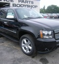 chevrolet tahoe 2011 black ltz flex fuel 8 cylinders 4 wheel drive automatic 99553