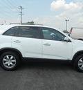 kia sorento 2011 white suv lx gasoline 4 cylinders 4 wheel drive 6 speed automatic 43228