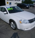 dodge avenger 2010 white gold r t gasoline fuel 4 cylinders front wheel drive automatic 99553