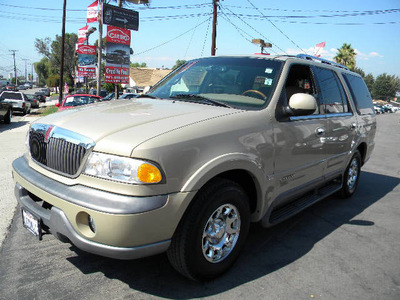 lincoln navigator 1999 gold suv gasoline 8 cylinders rear wheel drive automatic 92882