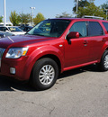 mercury mariner 2009 red suv premier v6 gasoline 6 cylinders 2 wheel drive 6 speed automatic 46168