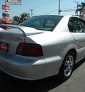 mitsubishi galant 2001 silver sedan gtz gasoline 6 cylinders front wheel drive automatic 92882