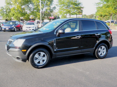 saturn vue 2008 black suv xe gasoline 4 cylinders front wheel drive automatic 55124