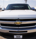 chevrolet silverado 1500 2010 white lt flex fuel 8 cylinders 2 wheel drive automatic 76018