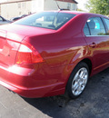 ford fusion 2010 dark red sedan se gasoline 4 cylinders front wheel drive automatic 14224