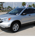 honda cr v 2010 silver suv ex gasoline 4 cylinders front wheel drive automatic with overdrive 77065