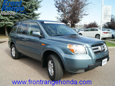 honda pilot 2008 steel blue suv vp gasoline 6 cylinders 4 wheel drive automatic 80910