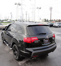 acura mdx 2008 black navi suv sport awd gasoline 6 cylinders all whee drive automatic with overdrive 60462
