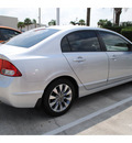honda civic 2009 silver sedan ex l w navi gasoline 4 cylinders front wheel drive automatic 77065
