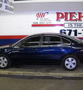 chevrolet impala 2008 blue sedan lt gasoline 6 cylinders front wheel drive automatic 14580