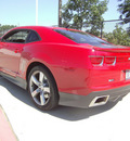 chevrolet camaro 2010 red coupe ss gasoline 8 cylinders rear wheel drive automatic 75503