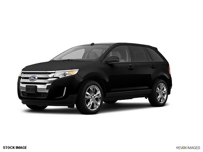 ford edge 2012 black suv se gasoline 6 cylinders front wheel drive shiftable automatic 77388
