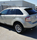 ford edge 2007 off white suv sel gasoline 6 cylinders front wheel drive automatic with overdrive 76108