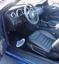 ford mustang 2007 blue gt deluxe 2dr gasoline 8 cylinders rear wheel drive 5 speed manual 56301