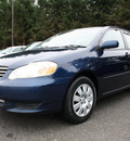 toyota corolla 2004 blue sedan le gasoline 4 cylinders front wheel drive automatic with overdrive 07702