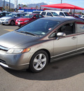 honda civic 2006 gray sedan ex gasoline 4 cylinders front wheel drive automatic 79925