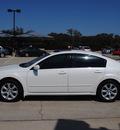 nissan maxima 2007 white sedan 3 5 sl gasoline 6 cylinders front wheel drive automatic 76087