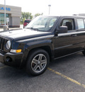 jeep patriot 2009 black suv sport gasoline 4 cylinders 2 wheel drive 5 speed manual 14224