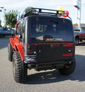 jeep wrangler 2005 red suv x gasoline 6 cylinders 4 wheel drive 6 speed manual 98371