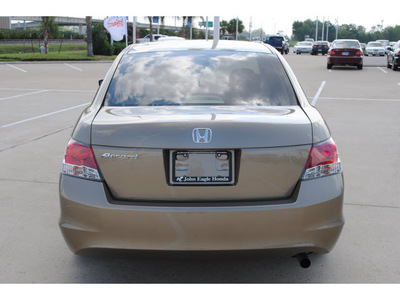 honda accord 2010 beige sedan lx gasoline 4 cylinders front wheel drive automatic 77065