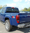 chevrolet colorado 2011 blue lt gasoline 5 cylinders 4 wheel drive automatic 27330