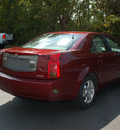 cadillac cts 2003 red sedan gasoline 6 cylinders dohc rear wheel drive automatic 27330