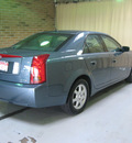 cadillac cts 2005 blue sedan gasoline 6 cylinders rear wheel drive automatic 44883