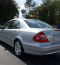 mercedes benz e class 2003 silver sedan e500 gasoline 8 cylinders rear wheel drive automatic 27330