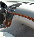 mercedes benz e class 2003 silver sedan e500 gasoline 8 cylinders rear wheel drive automatic 27330