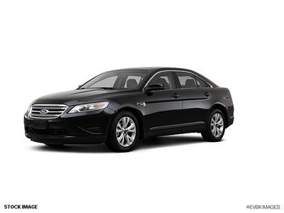 ford taurus 2012 black sedan sel gasoline 6 cylinders front wheel drive 6 speed automatic 77388