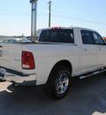 dodge ram pickup 1500 2009 white gasoline 8 cylinders 4 wheel drive automatic 76087
