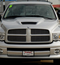 dodge ram 1500 2005 silver pickup truck slt daytona gasoline 8 cylinders rear wheel drive automatic 62034