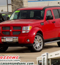 dodge nitro 2011 dk  red suv gasoline 6 cylinders 4 wheel drive automatic 62034