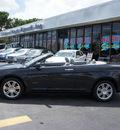 chrysler sebring 2008 black limited gasoline 6 cylinders front wheel drive automatic 33021