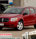 dodge caliber 2009 dk  red hatchback sxt gasoline 4 cylinders front wheel drive automatic 62034