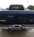 ford f 350 super duty 2006 blue lariat diesel 8 cylinders 4 wheel drive automatic 60007