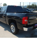 chevrolet silverado 1500 2010 black lt flex fuel 8 cylinders 2 wheel drive 4 speed automatic 77090