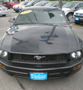 ford mustang 2006 black coupe gasoline 6 cylinders rear wheel drive 5 speed manual 13502