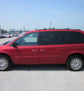 chrysler town and country 2005 red van lx stow n go gasoline 6 cylinders front wheel drive automatic 62863
