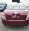 honda accord 2008 red sedan ex gasoline 6 cylinders front wheel drive automatic 13502