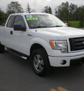 ford f 150 2009 white styleside gasoline 8 cylinders 4 wheel drive automatic 13502